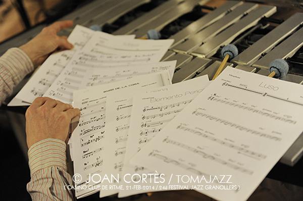 05_JAZZGRANOLLERS ENSEMBLE_Joan Cortes_21feb2014_Casino Club de Ritme_24Festival Jazz Granollers_Granollers