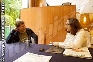 Chris Potter, Arturo Mora © Sergio Cabanillas, 2007