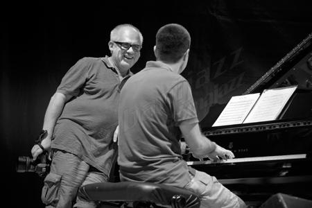 Antonio Porcar & Joan Monné, Peñíscola, 2013 © Sergio Cabanillas, 2013