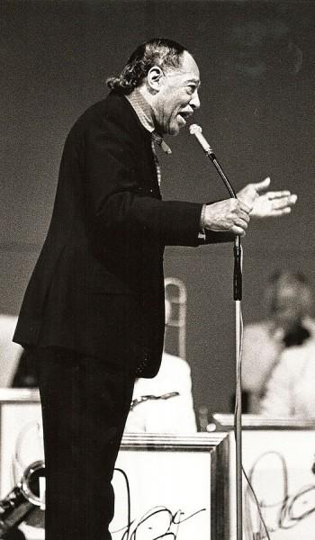 """Duke Ellington 1"" by Hans Bernhard (Schnobby) - Own work. Licensed under CC BY-SA 3.0 via Wikimedia Commons."