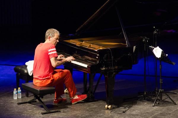 Concierto de Brad Mehldau Trio el día 14 de julio de 2015 en el XVIII Festival Internacional de Jazz de San Javier