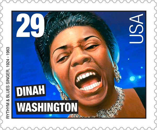 Dinah Washington sello