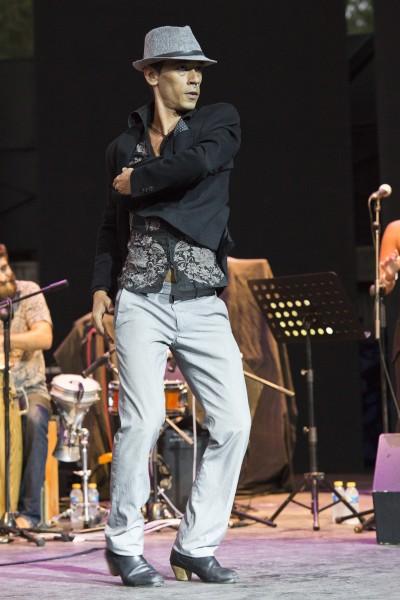 Concierto de Antonio Lizana Septeto el día 22 de julio de 2015 en el XVIII Festival Internacional de Jazz de San Javier