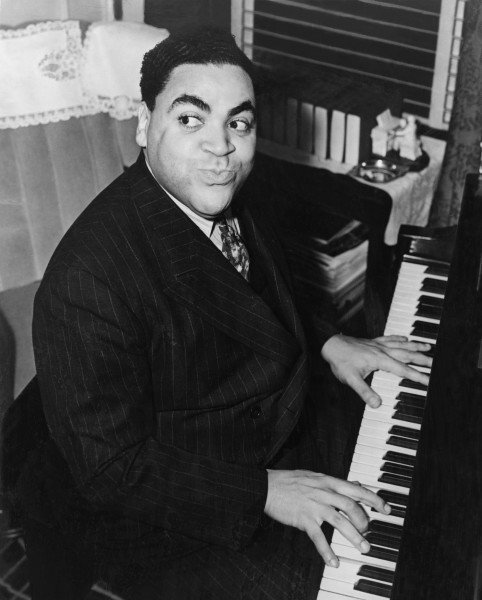 Fats Waller. Fotografía por Alan Fisher, 1938