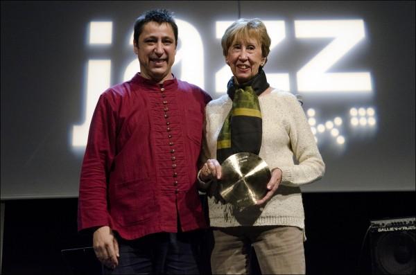 Mejor Músico. Gorka Benítez. Recogió su madre Itziar Oma