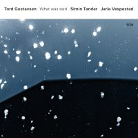 01_Tord Gustavsen - Simin Tander - Jarle Vespestad_What was said_ECM_2016