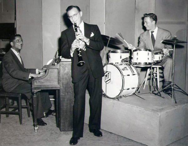 Benny Goodman, Teddy Wilson y Mel Torne