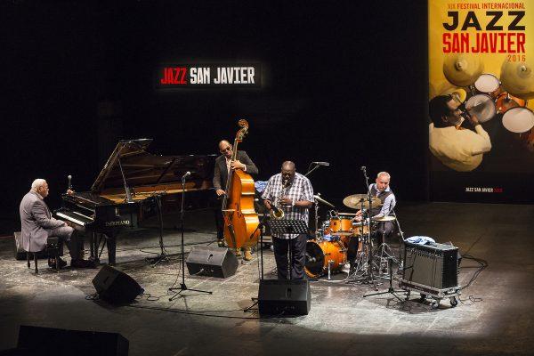 Concierto de Ellis Marsalis Quartet el día 30 de julio de 2016 en el XIX Festival Internacional de Jazz de San Javier
