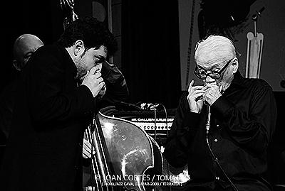 Antonio Serrano y Toots Thielemans.
