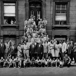 "Art Kane's famous photo of jazz greats, titled ""Harlem 1958""; approved for one-time use only. MUST CREDIT: Photograph by Art Kane - courtesy Art Kane Archive NOTE: this is a downsized low-res photo for web use"