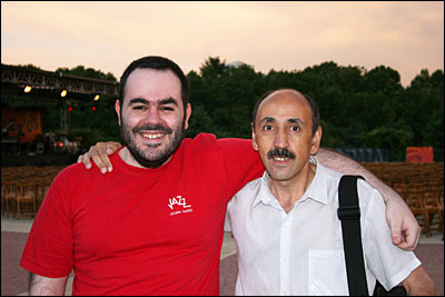 Javier Nombela y Sergio Cabanillas en el festival CompluJazz © Carlos Lara