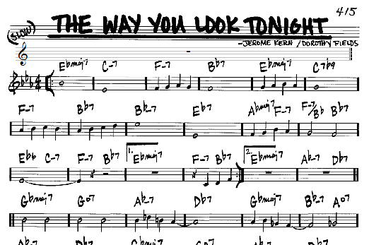 HDO 354. Y hoy… un estándar: The Way You Look Tonight II (003) [Podcast]