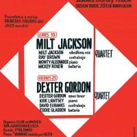 """Razones para el jazz: un concierto. Dexter Gordon (El """"Johnny"""", Madrid. 1982) [375]"""