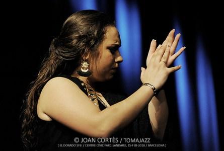 INSTANTZZ: María Terremoto (El Dorado -Sociedad Flamenca Barcelonesa-, Auditori del Centre Cívic Parc-Sandaru, Barcelona. 2018-02-15) [Galería fotográfica]