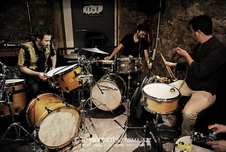 """INSTANTZZ: Iván González Memoria Uno """"Drums"""" (Robadors 23, 2n Basement Bcn Jazz Fest, """"Drums"""", Barcelona. 2018-05-30) [Galería fotográfica]"""