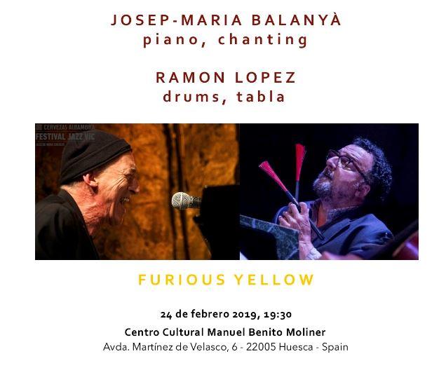 Balanyà - López: Furious Yellow (Huesca. 2019-02-24) [Noticias]