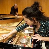 "INSTANTZZ: Agustí Fernández & Jordina Millà ""Música improvisada per a dos pianos preparats"" -prueba de sonido- (Auditori Enric Granados -Sala 2-, Lleida. 2019-01-18) [Galería fotográfica]"