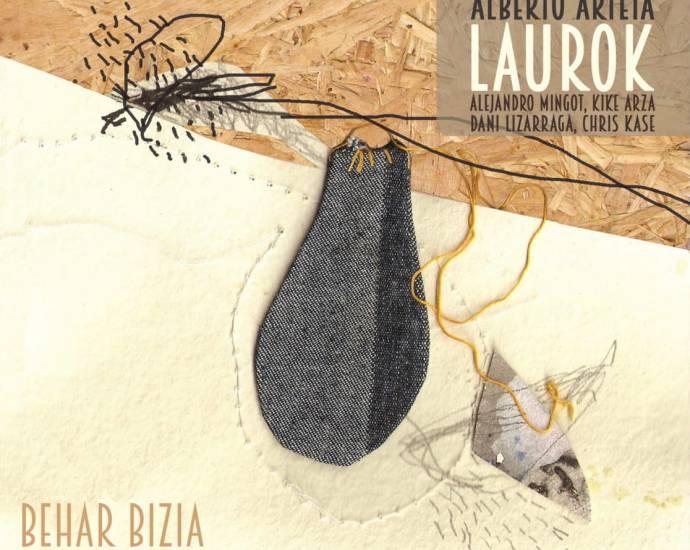 Portada de Alberto Arteta Laurok: Behan Bizia (Errabal Jazz, 2019)