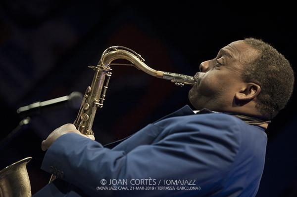 INSTANTZZ: David Murray Quartet (38è Festival Jazz Terrassa, Nova Jazz Cava, Terrassa -Barcelona-.  2019-03-21) [Galería fotográfica]