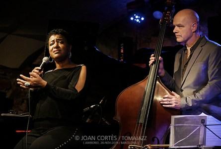 INSTANTZZ: Vanessa Rubin featuring Danny Grisset (Jamboree, Barcelona. 2019-11-09) [Galería fotográfica]
