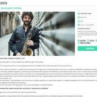"""Miguel """"Pintxo"""" Villar """"Apátrida"""" (Urtarrijazz'21. Viernes 29 de enero de 2021. Pamplona, Navarra) [Noticias de jazz]"""