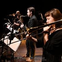 INSTANTZZ: Lluc Casares Septet -prueba de sonido- (Sessions, L'Auditori Sala 3 Tete Montoliu, Barcelona. 2021-02-20) [Galería fotográfica AKA Fotoblog de jazz, impro… y algo más] Por Joan Cortès