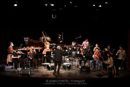 """INSTANTZZ: Barcelona Art Orchestra -BAO- """"Revisiting The Godfather"""" (Cinema Edison, 31è Jazz Granollers Festival, Granollers -Barcelona-. 2021-03-18) [Galería fotográfica AKA Fotoblog de jazz, impro… y algo más] Por Joan Cortès."""