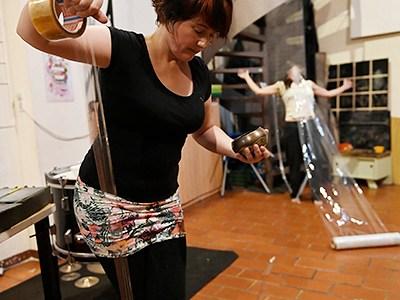 INSTANTZZ: Núria Andorrà & Maria Mora (Festa de la dansa i la música per a saludar l'estiu / Cuina Cultura, Ateneu La Base, Barcelona.  2021-06-18) [Galería fotográfica AKA Fotoblog de jazz, impro… y algo más] Por Joan Cortès