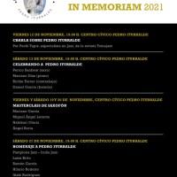 Pedro Iturralde In Memoriam 2021 (Falces, Navarra. Del 12 al 27 de noviembre de 2021) [Noticias de jazz]