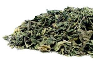 Dried Nettle Leaf, photo from Mountain Rose Herbs