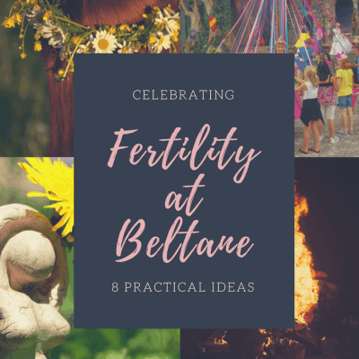 Beltane is a traditional Celtic fertility celebration! If you are trying to conceive or are struggling with infertility, this post provides 8 practical tips for celebrating your fertility at Beltane.