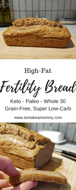A delicious and easy fertility recipe that is high fat, low carb, and gluten free! Also Whole 30, Keto, Paleo, and Clean Eating compliant!