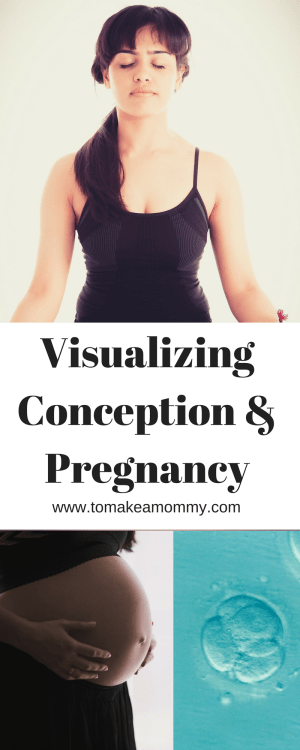 Guided Imagery, Visualization, and Meditation for Fertility. Includes what tools I used to get pregnant while struggling with infertility!