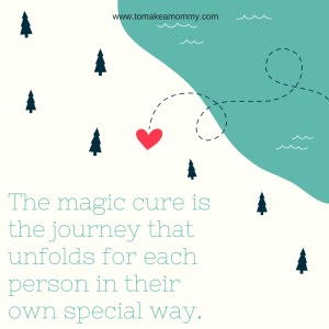 There is no magic cure for #infertility. It's the journey to health and happiness that matter! #fertility #ttc