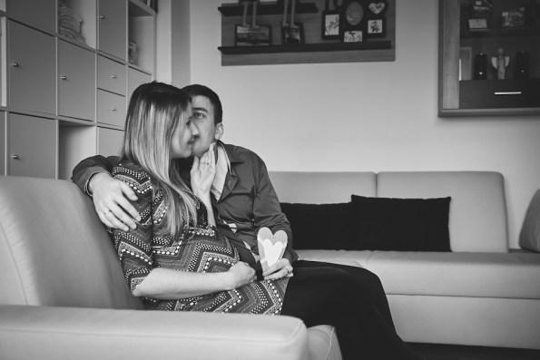 tehotenské foto Macka a Dono