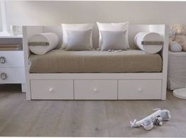 sofa bed for child 7 piece leather sectional children beds tomassini italian design furniture anna baby room day