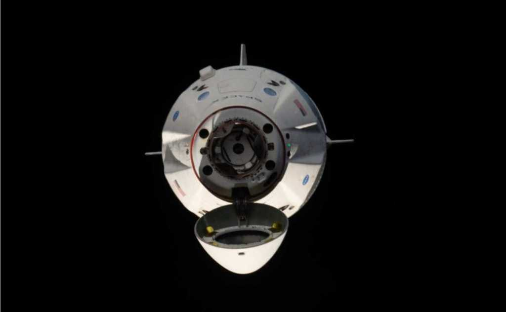 Crew Dragon Undocking