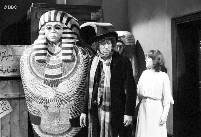 Image result for doctor-who-pyramids-of-mars mummy