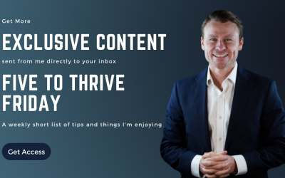 Five to Thrive Friday – Get Access