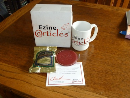 Ezine Articles gift booty