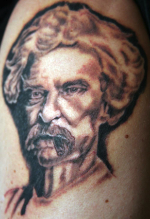 Tom's Twain Tattoo