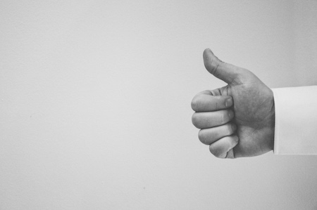 This thumb's for you (give yourself a hand)