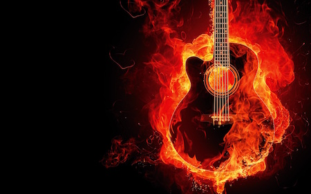 BurningGuitar