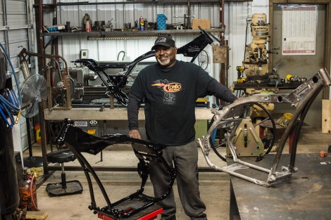 Tombo Racing now offers bagger frames for big wheel choppers and baggers.