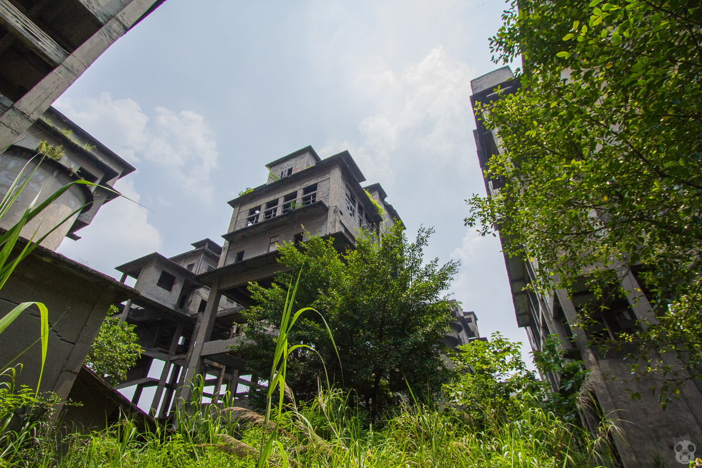 Abandoned Cement Plant in China セメント工場 中国 廃墟