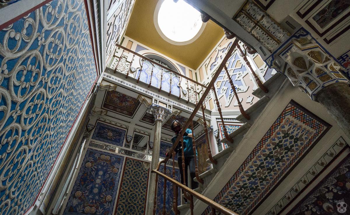365 Rooms in Castello di Sammezzano  365個の部屋を持つサメッザーノ城