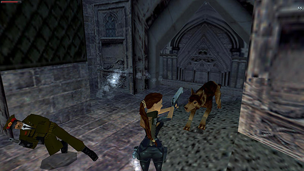 TOMB RAIDER 3 All Hallows  Flooded Catacombs and Level Exit