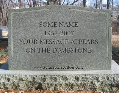 Custom Tombstone Maker