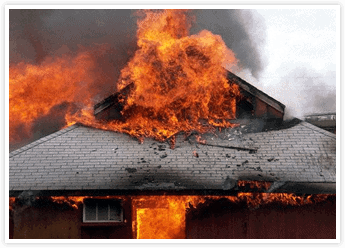 Fire Damage with Tom Byer Roofing Service in Orange County