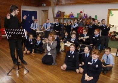 Education work with Lancashire Sinfonietta, March 2012
